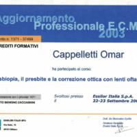 aggiornamento-professionale-2003-omar-cappelletti-ottica-lariana-como