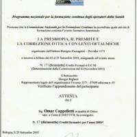 corso-formazione-2003-omar-cappelletti-ottica-lariana-como